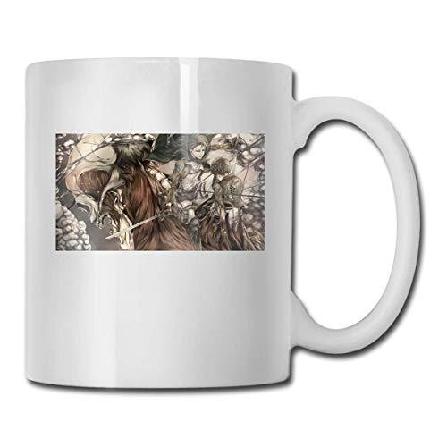 Angriff auf Titan Kaffeetasse, perfekt für Cappuccino, Tee, Kakao, Müsli