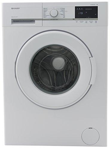 Sharp ES-GFB8143W3-DE Waschmaschine / 8kg / A+++/ 1400UpM/ Aqua Stop / Allergy Smart / Unwuchtkontrolle / Schaumschutz / LED-Anzeige / Eco-Funktion