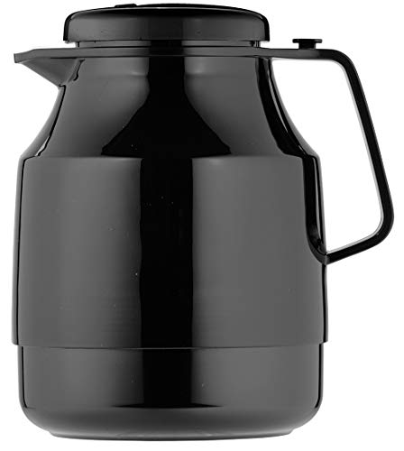 Helios Tea Boy Isolierkanne 1,3 l schwarz