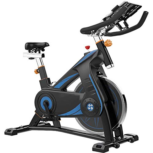 Read About YADSHENG Spinning Bike Professional Indoor Exercise Bike Padded Arm Support Comfort Seat ...