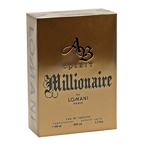 AB Spirit Millionaire By LOMNI Cologne for Men 3.3oz 100ml EDT Spray by AB SPIRIT MILLIONAIRE
