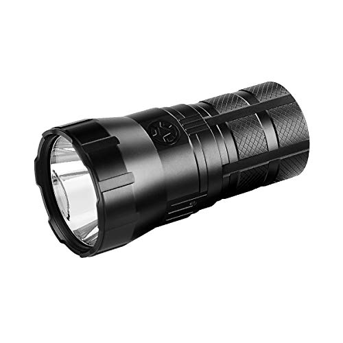 IMALENT RT90 Led Flashlight 4800 Lumens, Tactical Flashlight Long Beam Distance Up to 1308 Meters, Rechargeable Torch Suitable for Searching and Hiking