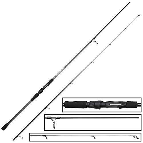 Okuma Altera Spin 1,80m 2-7g Spinnrute, Angelrute zum Spinnfischen, Barschrute, Forellenrute, Ultra Light Rute für Barsche