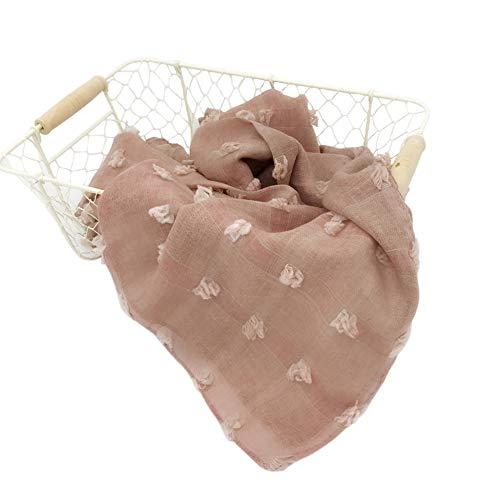 TININNA Accessoires pour Photos de Bébé Wraps Accessoires de Photographie pour Nouveau-né Stretch Wrap Couverture Swaddle pour Les Tout-Petits Garçons Filles Rose Clair