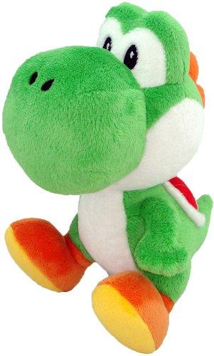 Peluche Officielle Super Mario - Yoshi (24 cm)