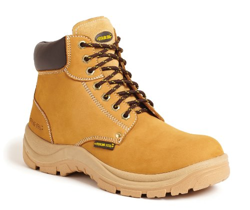 Sterling Safetywear, scarpe antinfortunistiche da uomo SS819 CM, 9 UK, Honey