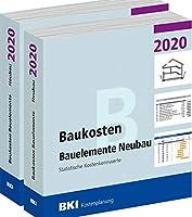 BKI Baukosten Gebaeude + Bauelemente Neubau 2020 - Kombi Teil 1-2: Statistische Kostenkennwerte