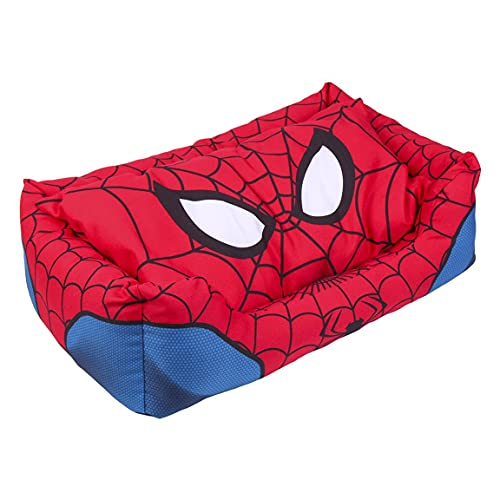 CERDÁ LIFE'S LITTLE MOMENTS - For Fan Pets, Letto Cane di Spiderman - Marvel - Licenza Ufficiale Marvel