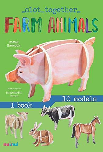 Farm animals. Slot together (Slot Together in 3d)