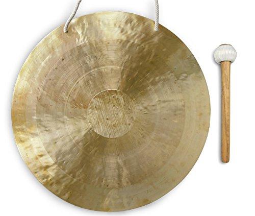 Feng Gong/Wind Gong 60 cm, inklusiv Holz-/ Baumwollklöppel -7011-L