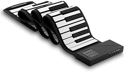 USB 88 teclas MIDI enrollable Piano electrónico, Teclado ...