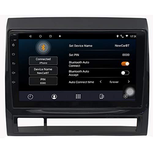 GPS para Coches con 10 Pulgadas Pantalla LCD,con Tráfico Y Alerta De Radares,Actualizaciones De Mapas De Europa,Aplicar para Toyota Tacoma (2005-2013)