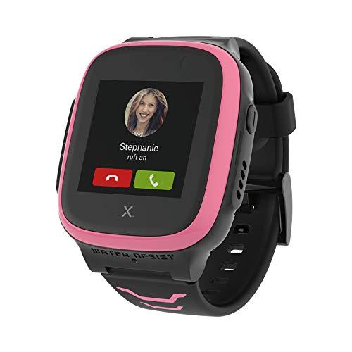 Xplora Kids Watch X5 Play eSIM GPS-Smartwatch für Kinder mit SOS-Taste, Standort-Anzeige, Telefon & Sprachnachrichten | per App mit Smartphone der Eltern verbunden | 30€ Amazon Gutschein, pink