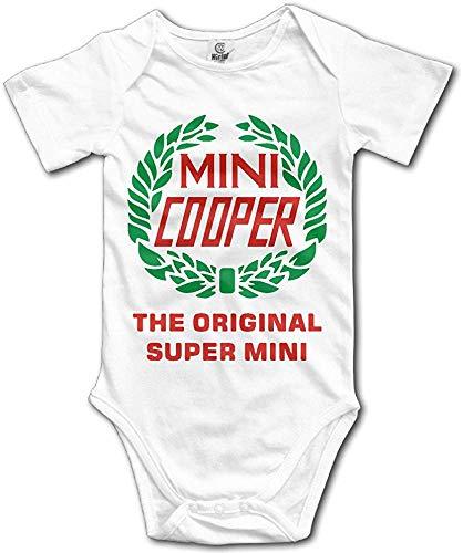 FGRFQ Combinaison Bébé Baby's Mini Cooper Bodysuit Romper Jumpsuit Baby Clothes