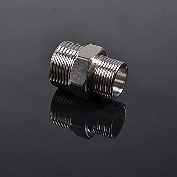 6AN AN6 Flare To M12 x 1.5 Metric Straight Fitting Black Male