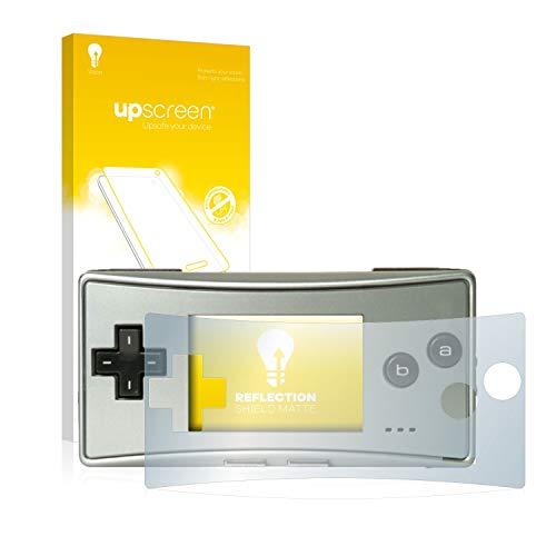 upscreen Entspiegelungs-Schutzfolie kompatibel mit Nintendo Gameboy Micro – Anti-Reflex Displayschutz-Folie Matt