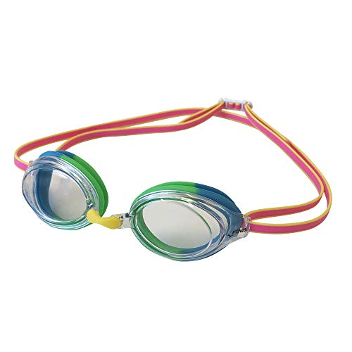 Finis Clear/Pink Ripple Goggle, Unisex-Adult, One Size
