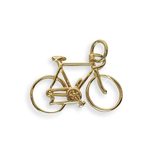 Echt 14 Karat Gold 585 Anhänger Fahrrad (Art.207125)