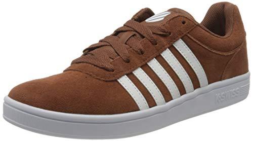 K-Swiss Herren Court CHESWICK SPSDE Sneaker, Braun (Tortoise/Wt/Bluga 292), 43 EU
