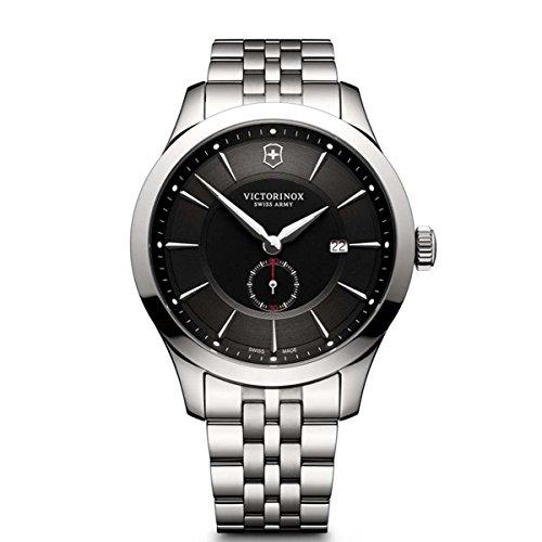 Victorinox Herren Digital Quarz Uhr mit Edelstahl Armband 241762