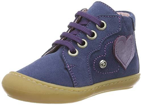 Däumling Baby Mädchen Susi Sneaker, Blau (Turino Jeans 42), 21 EU