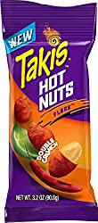 Takis Hot Nuts - Double Crunch Spicy Peanuts – Unique Hot Peanuts with Double Crunch Technology - Fl