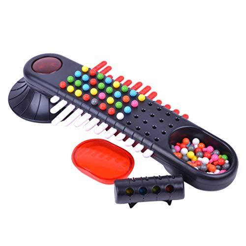 TOYANDONA Mastermind Kraken Kraal Spel Klassieke Code Raden Spel Speelgoed Kinderen Educatief Wachtwoord Speelgoed Vroege Educatieve Desktop Spel Speelgoed Voor Thuis Spelen (Zwart)