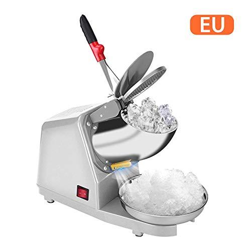 Luckything Elektrische ijsbreker, scheerapparaat, sneeuw, kegelmachine, voor thuisgebruik en voor het fijnmaken van ijsblokjesmaker, ijsblokjesmachine, ijsbreker, voor particulieren