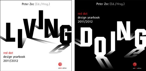 red dot design yearbook 2011/2012: living + doing (Set)