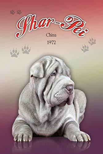 Schatzmix Schar Pei China 1972 hond metalen bord 20x30 cm wanddecoratie tin sign blikken bord, blik, meerkleurig