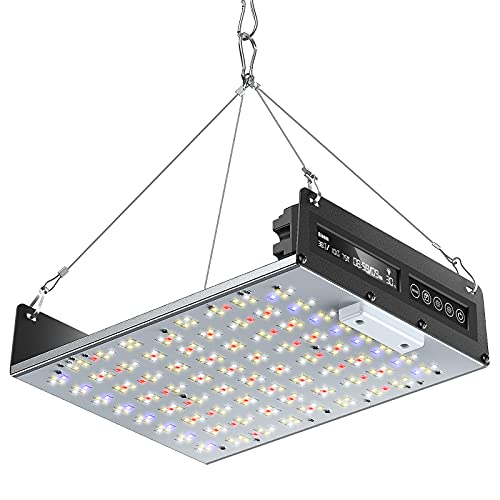 Led Grow Lights, 1500W Full Spectrum LED Grow Light 3x3ft Coverage, Dimmable LED Plant Grow Light for Indoor Plants with Timing Function, 3 Lighting Modes, 320 LEDs