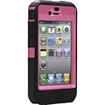 OtterBox for iPhone 4 Defender ケース(ブラック/ピンク)