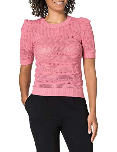 Morgan Pull Col Rond Maille Ajourée Mlilou Suéter para Mujer