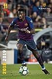 Grupo Erik Poster FC Barcelona 2018/2019 Dembele Accion
