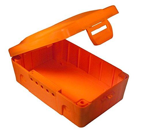 MasterPlug IP54wetterfest Elektrische Box–Orange