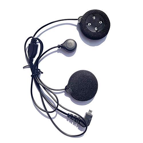 Micrófono Auriculares para FreedConn T-MAX, FDCVB, T-COM, COLO Motocicleta Casco Bluetooth Intercomunicador Interphone