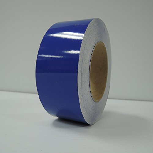 """2"""" 3M Vinyl Striping 150' 25 Colors Available (Sapphire Blue)"""