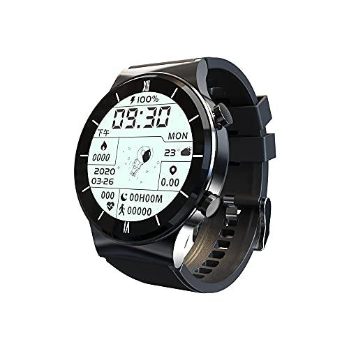 hanyumaoyi Reloj Inteligente, música Local, Llamada, Toque Completo, Pantalla Grande, Huawei (Color : Black)