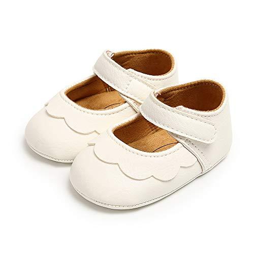 Mostaza De Pana Mary Jane Bebé Niñas Zapatos con arco en Correa.