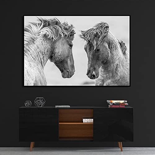 Yegnalo Cuadro de póster de decoración de Lienzo de Animal Impreso en Lienzo Cuadro de Arte de Sala de Estar