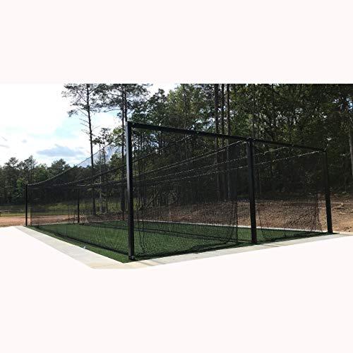 LFS Sport Netting #30 HDPE Batting Cage Net - 12' x 12' x 55'