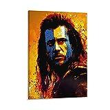 William Wallace Braveheart Poster, dekoratives Gemälde,