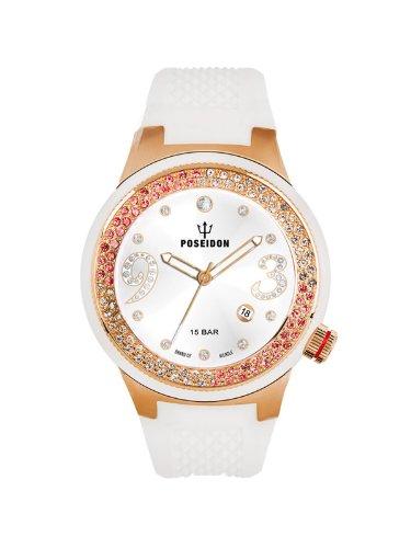 Kienzle Damen-Armbanduhr POSEIDON Lady Analog Quarz Silikon K2112039083-00444