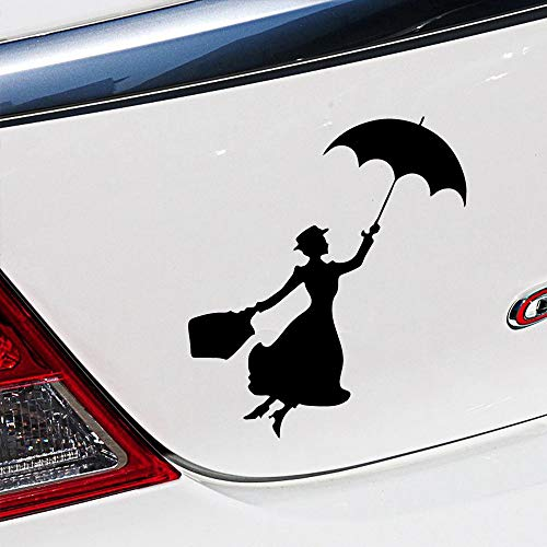 Geiqianjiumai Mooie vrouw in de auto vreugde sticker auto raam bumper vrachtwagen bumper sticker autosticker