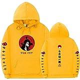 Y-PLAND Suéter con Capucha De Naruto, Sudadera Casual para Hombres Y Mujeres, Sudadera con Estampado De Itachi Akatsuki-7_XXXL