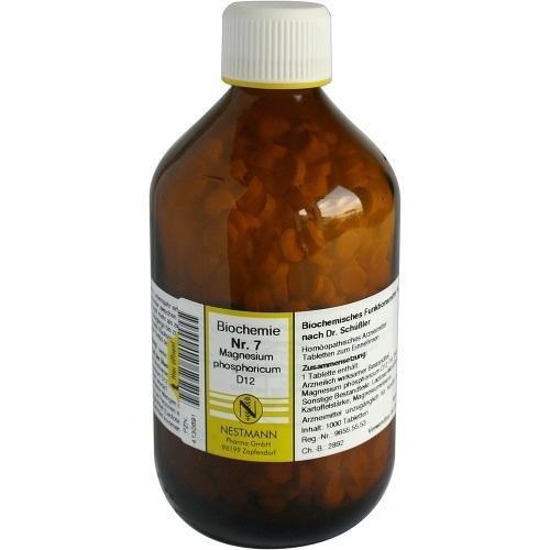 Schüssler Salze 7 MAGN PHOS D12 1000St 4130691