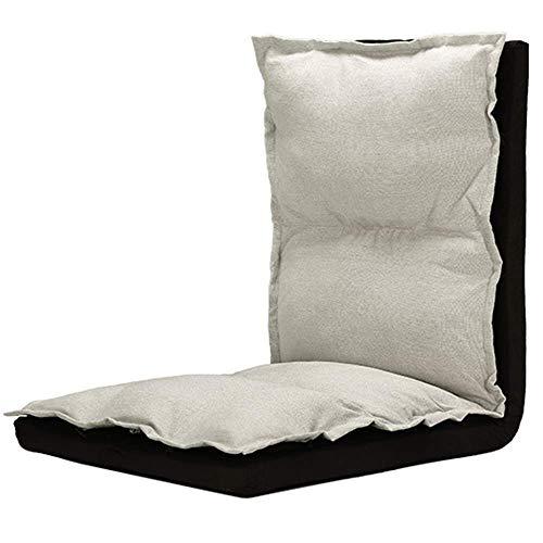 Sofá perezoso Silla plegable sofá perezoso moderno Sencillez reclinable de 5 velocidades de ajuste plegable fácil de quitar y lavar interior y exterior cómodo y transpirable 3 colores opcionales 1,15