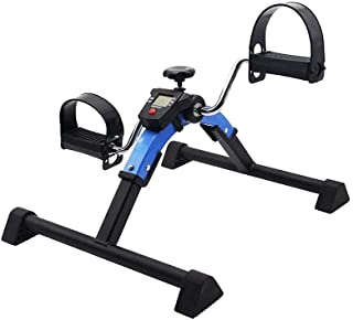 Strong Folding Pedal Exerciser for Leg and Arm Knee Recovery Exercise with Monitor Rehabilitation Training Equipme