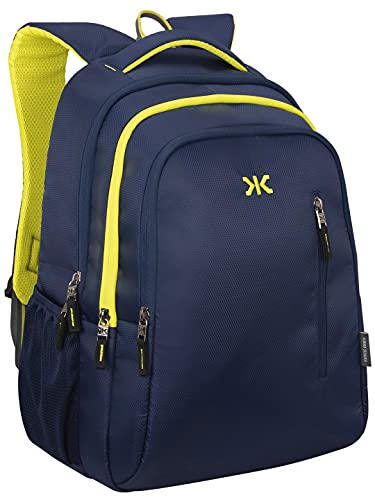 Killer Gliding 36 litres Navy 15.6 Inch Water Resistance Polyester Laptop Backpack