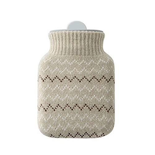 NZBⓇ Wärmflasche, Mini-Silikon-Karotte Kinder Warmwasserbeutel mit Deckel, wiederverwendbar Kann durch die Mikrowelle Handwärmer erwärmt Werden